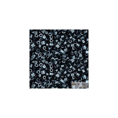 Hematite - 10 g - Toho Hex gyöngy 11/0 (81)