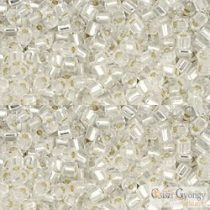 Silver Lined Crystal - 10 g - Toho Hex Beads 11/0 (21)