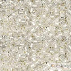 Silver Lined Crystal - 10 g - Toho Hex gyöngy 11/0 (21)
