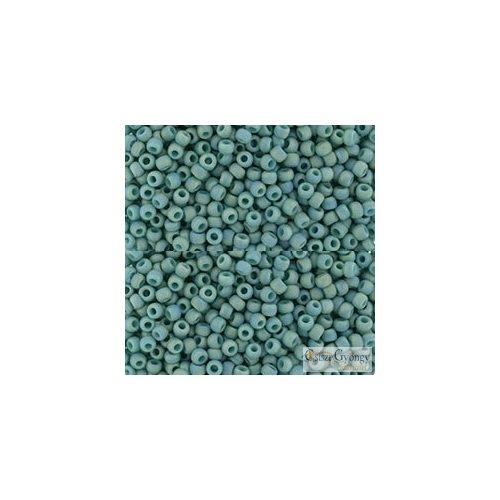 Semi Glazed Rainbow Turquoise - 10 g - 11/0 Toho japán kásagyöngy (2634F)