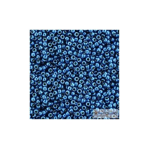 Perm. Fin. Galv. Turkish Blue - 10 g - 11/0 Toho japán kásagyöngy (PF584)