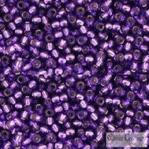 Silver Lined Purple - 10 g - 11/0 Toho japán kásagyöngy (2224)