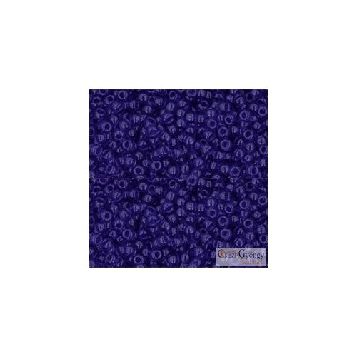 8 Transparent Cobalt - 10 g - Toho japán kásagyöngy 11/0