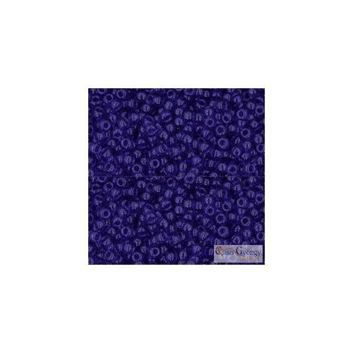 8 - Transparent Cobalt - 10 g - Toho japán kásagyöngy 11/0
