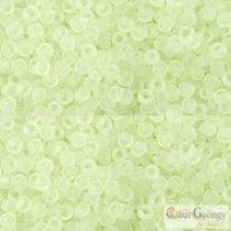 Transparent Frosted Citrus Spritz - 10 g - 11/0 Toho japán kásagyöngy (15F)