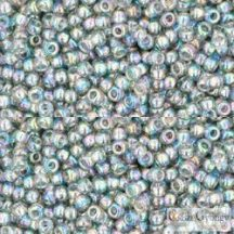 Transparent Rainbow Black Diamond - 10 g - 11/0 Toho japán kásagyöngy (176)