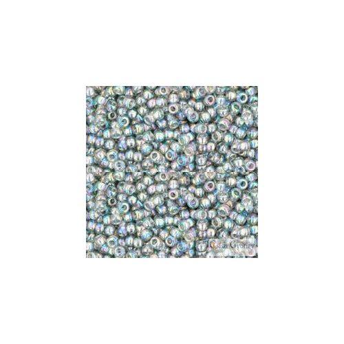 Transparent Rainbow Black Diamond - 10 g - 11/0 Toho japán kásagyöngy (176)