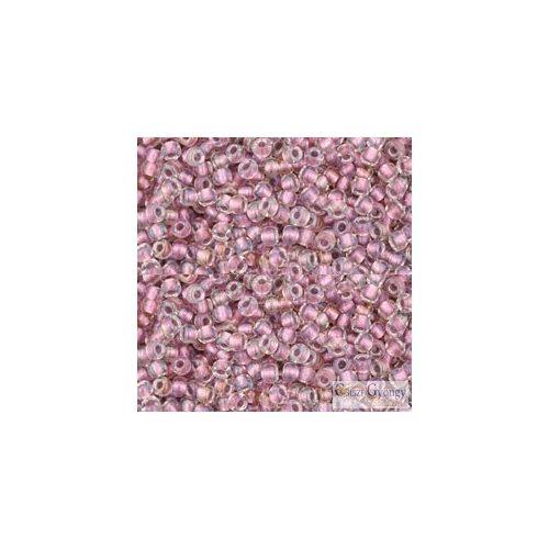 I.C. Crystal Rose Gold Lined - 10 g - 11/0 Toho japán kásagyöngy (267)