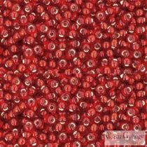 Silver Lined Ruby - 10 g - 11/0 Toho Rocailles (25C)