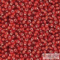 Silver Lined Ruby - 10 g - 11/0 Toho kásagyöngy (25C)