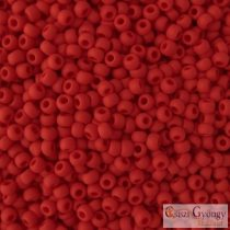 Opaque Frosted Pepper Red - 10 g - 11/0 Toho japán kásagyöngy (45F)
