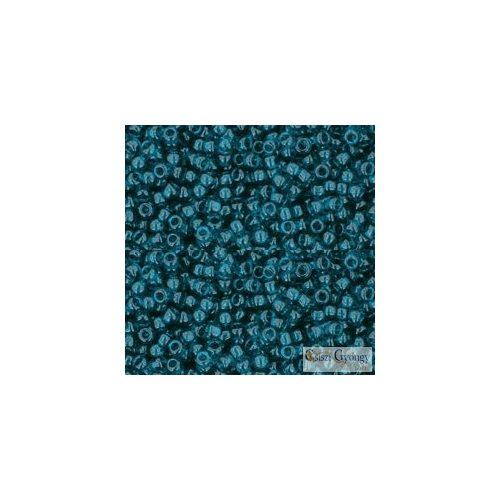 Transparent Capri Blue - 10 g - 11/0 Toho japán kásagyöngy (7BD)
