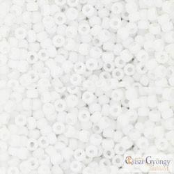 Opaque Frosted White - 10 g - 11/0 Toho japán kásagyöngy (41F)