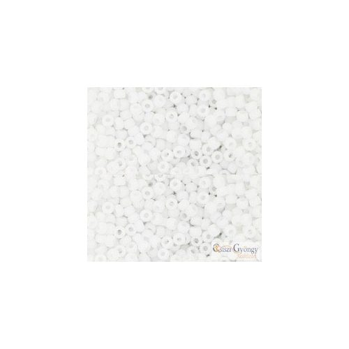 41F - Opaque Frosted White - 10 g - 11/0 Toho japán kásagyöngy