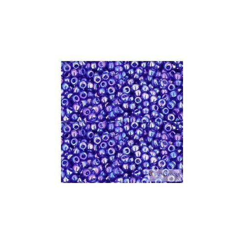 Transparent Rainbow Cobalt - 10 g - 11/0 Toho japán kásagyöngy (87)