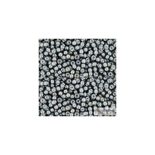 I.C. Black Diamond White Lined - 10 g - 11/0 Toho japán kásagyöngy (371)