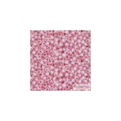P.F. Silver Lined Milky Baby Pink - 10 g - 11/0 Toho japán kásagyöngy (2105)