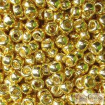 P.F. Galv. Yellow Gold - 10 g - 11/0 Toho japán kásagyöngy (PF590)