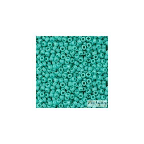 Opaque Turquoise - 10 g - 11/0 Toho japán kásagyöngy (55)