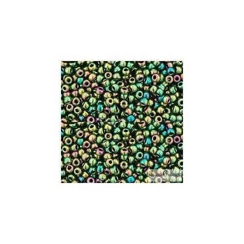 Higher Metallic Iris Olivine - 10 g - 11/0 Toho japán kásagyöngy (508)