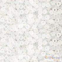 Transparent Frost. Crystal - 10 g - 11/0 Toho japán kásagyöngy (1F)