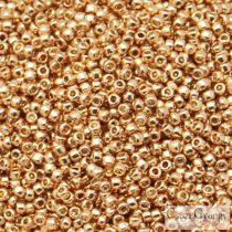 Perm. Fin. Galv. Rose Gold - 10 g - 11/0 Toho japán kásagyöngy (PF551)