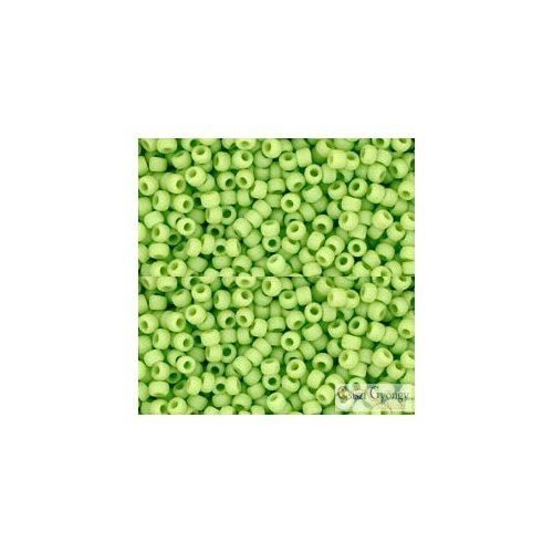 44F - Opaque Frosted Sour Apple - 10 g - 11/0 Toho kásagyöngy