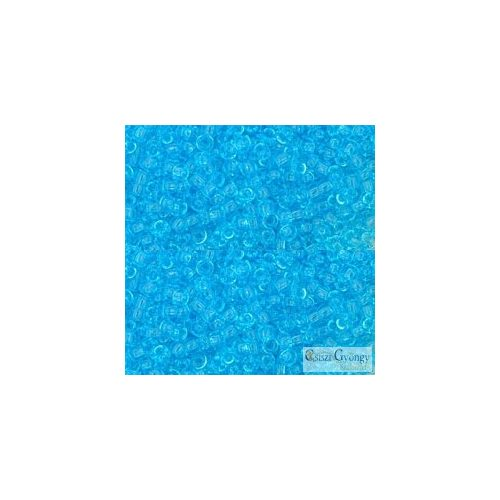 Transparent Aquamarine - 10 g - 11/0 Toho kásagyöngy (3)