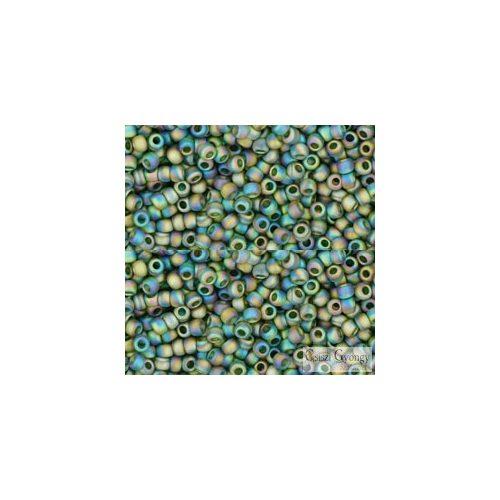 Transp. Rainbow  Frosted Olivine - 10 g - 11/0 Toho kásagyöngy (180F)