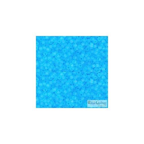 Transparent Frosted Aquamarine - 10 g - 11/0 Toho kásagyöngy (3F)