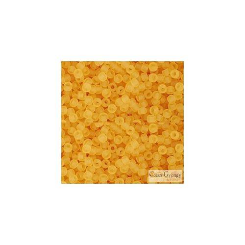 Transparent Frosted Topaz - 10 g - 11/0 Toho kásagyöngy (2F)