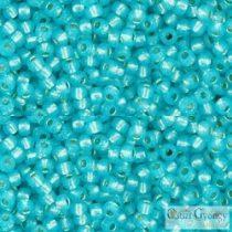 Silver Lined Milky Aqua - 10 g - 11/0 Toho kásagyöngy (2117)