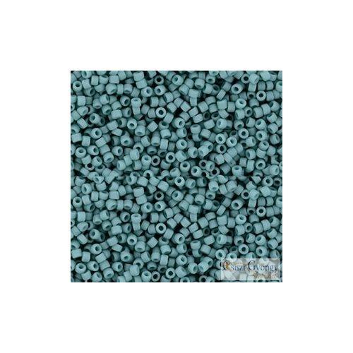 Semi Glazed Turquoise - 5 g - 15/0 Toho japán kásagyöngy (2604F)