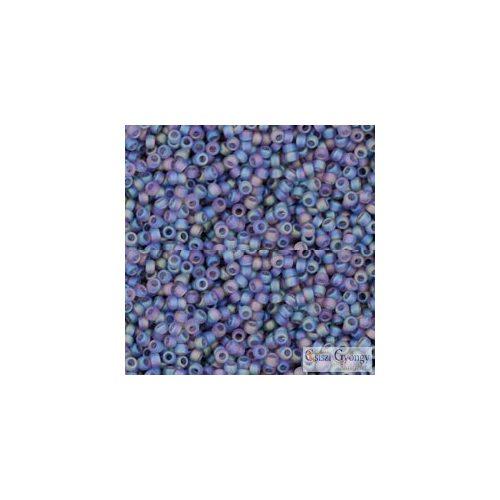 Transparent Rainbow Frosted Tanzanite - 5 g - 15/0 Toho kásagyöngy (166DF)