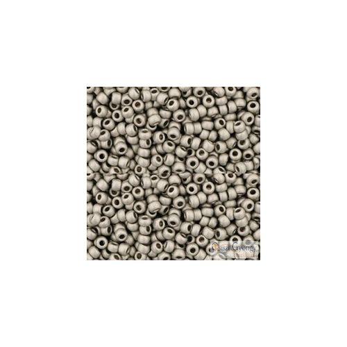 Metallic Frosted Antique Silver - 5g - 15/0 Toho japán kásagyöngy (566)