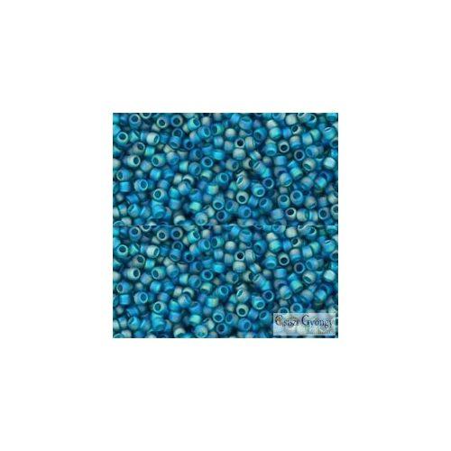 Transparent Rainbow Frosted Teal - 5 g - Toho japán kásagyöngy 15/0 (167BDF)