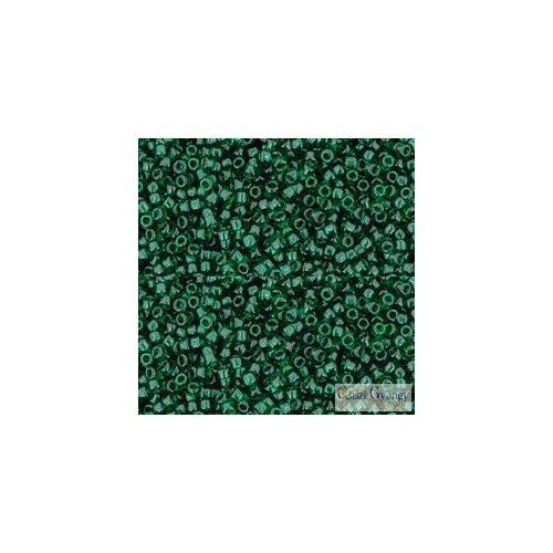 Transparent Green Emerald - 5 g - Toho japán kásagyöngy 15/0 (939)
