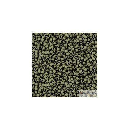 Matte Color Dark Olivine - 5 g - 15/0 Toho japán kásagyöngy (617)
