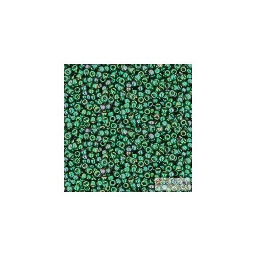 Gold Luster Emerald - 5 g - 15/0 Toho japán kásagyöngy (322)