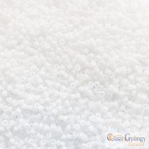 Opaque Frosted White - 5 g - 15/0 Toho japán kásagyöngy (41F)