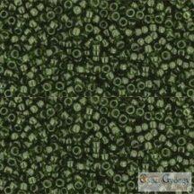 Transparent Olivine - 5 g - 15/0 Toho kásagyöngy (940)