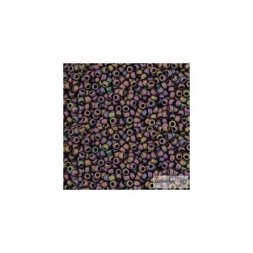 Frosted Met. Iris Purple - 5 g - 15/0 Toho japán kásagyöngy (85F)