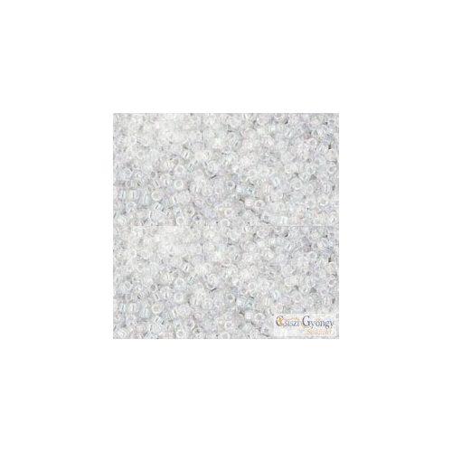161 - Transparent Rainbow Crystal - 5 g - Toho japán kásagyöngy 15/0