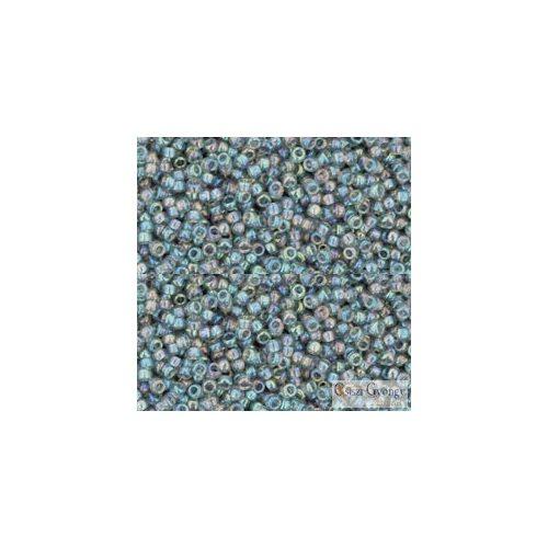 Transparent Rainbow Black Diamond - 5 g - 15/0 Toho japán kásagyöngy (176)