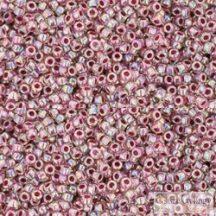 I.C. Rainbow Crystal Strawberry Lined - 5 g - 15/0 Toho japán kásagyöngy (771)