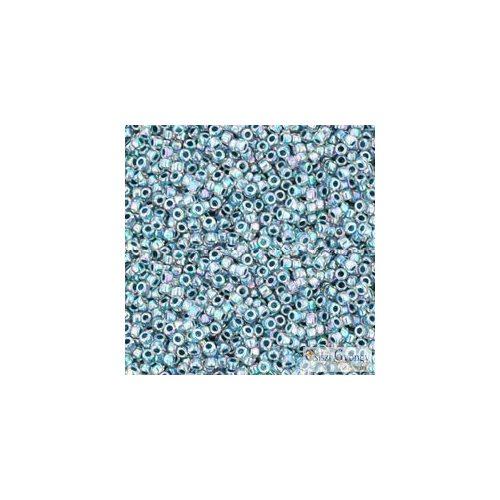 I.C. Rainbow Crystal Montana Blue Lined - 5 g - 15/0 Toho japán kásagyöngy (773)