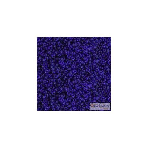 Transparent Cobalt - 5 g - 15/0 Toho japán kásagyöngy (8)