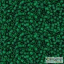 Transp. Frost. Green Emerald - 5 g - 15/0 Toho japán kásagyöngy (939F)
