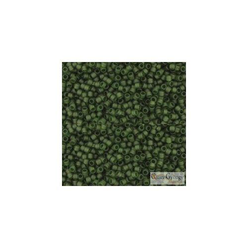940F - Transparent Frosted Olivine - 5 g - 15/0 Toho japán kásagyöngy