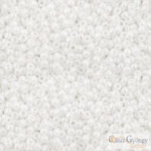 Opaque Luster White - 5 g - 15/0 Toho japán kásagyöngy (121)